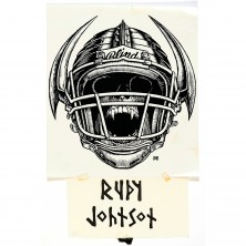 Rudy Johnson Blind photostat