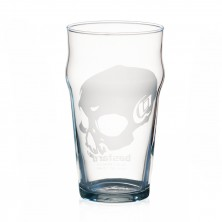 Skull Pint Glass