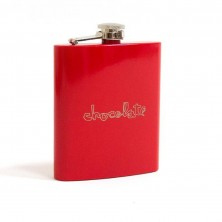 Red Square Flask