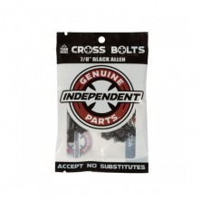 "Cross Bolts 7/8"" Black Allen"
