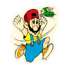 World Industries Jeremy Klein Mario ripoff