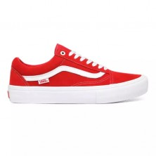 Suede Old Skool Pro - Red / White