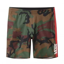 "Surf Trunk 2 19"" - Os Woodland Camo"