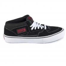 Half Cab PRO - black/white/red